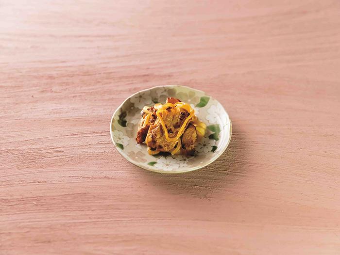 大豆ミートの冷凍生姜焼き